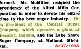 Indiana Corporation History 1930-1970